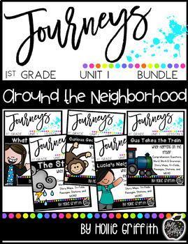1st Grade Journeys Unit 1 Bundle {Supplemental Resources}