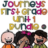 Journeys 1st Grade Unit 1 Supplement BUNDLE