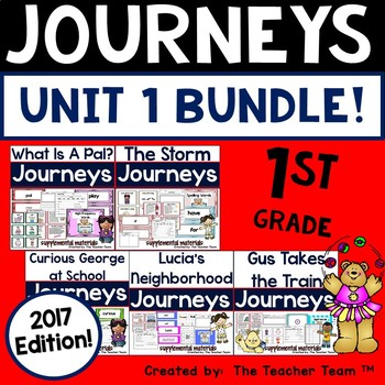 Journeys  2017 1st Grade Unit 1 Supplemental Materials