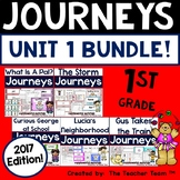 Journeys 1st Grade Unit 1 Supplemental Activities and Printables 2017 or 2014