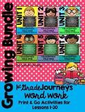 Word Work BUNDLE ~ No Prep ~ Journeys 1st Grade {Sight Word & Spelling Lists}