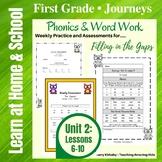 1st Grade Journeys: Unit 2 - Phonics & Word Work