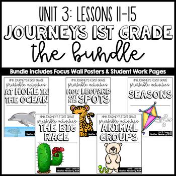 Journeys 1st Grade Unit 3 Bundle