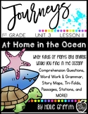 Journeys 1st Grade {Unit 3, Lesson 11, At Home in the Ocean}