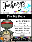Journeys 1st Grade {Unit 3, Lesson 14, The Big Race}
