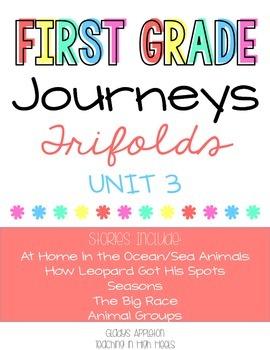 Journeys 1st Grade Unit 3 Trifolds