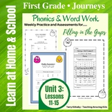 1st Grade Journeys:  Unit 3 - Phonics & Word Work