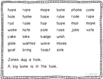 Journeys 1st Grade Unit 4 Decodable Words