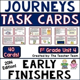 Journeys 1st Grade Unit 4 Task Cards Supplemental Materials CC 2014