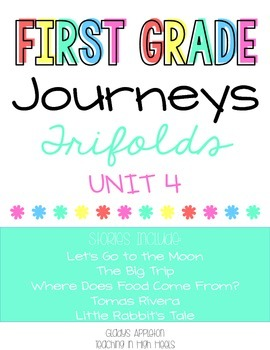 Journeys 1st Grade Unit 4 Trifolds