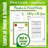 1st Grade Journeys: Unit 4 - Phonics & Word Work