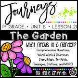 Journeys 1st Grade Unit 5 Lesson 21 {The Garden}