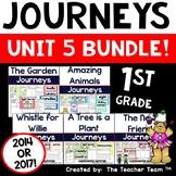 Journeys 1st Grade Unit 5 Word Work Bundle | 2014 or 2017