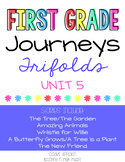 Journeys First Grade Unit 5 Trifolds