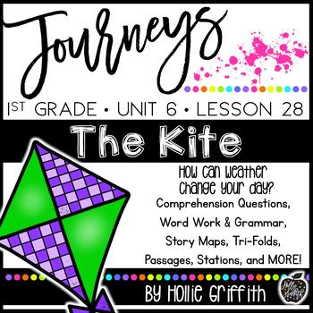 Journeys 1st Grade {Unit 6, Lesson 28, The Kite}