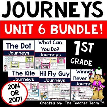 Journeys 1st Grade Unit 6 Supplemental Activities & Printables 2014