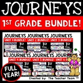 Journeys 1st Grade Units 1-6 2014-2017 Supplemental Activities Full Year Bundle