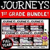 Journeys 1st Grade Units 1-6 2014-2017 Supplemental Activities Full Year Bundle