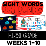Journeys 1st Grade Units 1 and 2 High Frequency SIGHT WORD BIG BUNDLE: 10 Weeks