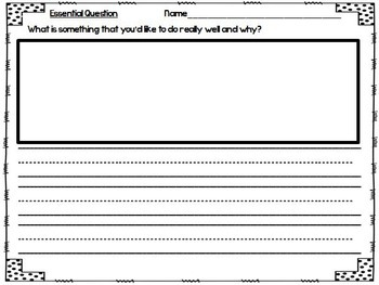 What Can You Do? Journeys 1st Grade Unit 6 Lesson 27 Activities and Printables