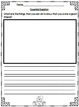 What is a Pal? Journeys 1st Grade  Unit 1 Lesson 1 Packet