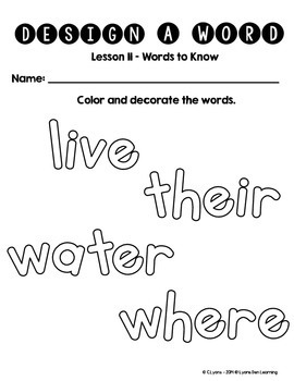 Journey's 1st Grade Word Work Practice and Center Activities - Unit 3