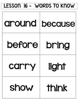 Journey's 1st Grade Word Work Practice and Center Activities - Unit 4