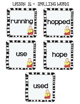 Journey's 1st Grade Word Work Practice and Center Activities - Unit 6