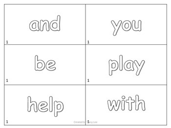 Journeys 1st Grade Words to Know Flashcards