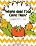 Journeys 1st Grade~Where Does Food Come From? {Unit 4, Lesson 18}