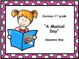 "Journeys 1st grade ""A Musical Day"" Sequence Map"