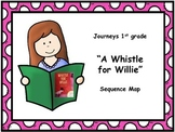 "Journeys 1st grade ""A Whistle for Willie"" Sequence Map"