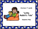 "Journeys 1st grade ""Little Rabbit's Tale"" Sequence Map"