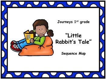 "Journeys 1st grade ""Little Rabbit's Tale"" Sequence Map"