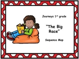 "Journeys 1st grade ""The Big Race"" Sequence Map"