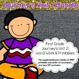 Journeys 1st grade Unit 2 Bundle