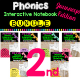 2nd Grade Phonics Interactive Notebook Bundle:  Journeys Edition