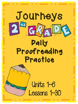 Journeys (2012) Daily Proofreading Practice Grade 2