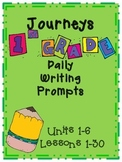 Journeys 2012 First Grade Daily Writing Prompts