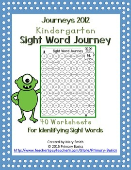 Journeys 2012 Sight Word Journey