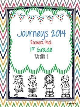 Journeys 2014 1st Grade Resource Pack ~ Unit 1