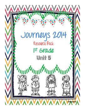 Journeys 2014 1st Grade Resource Pack ~ Unit 5