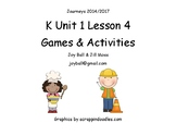 Journeys 2014/2017 Kindergarten Unit 1 Lesson 4: Everybody Works