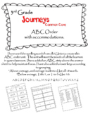 Journeys (2014) 3rd Grade ABC Order Whole Unit w/ accommodations