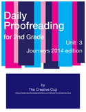 Journeys (2014) Daily Proofreading - Unit 3 for 2nd Grade