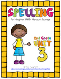 Journeys (2014, 2017 Editions), 2nd Grade Spelling Materials, Unit 3