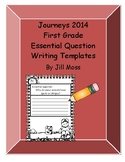 Journeys 2014/2017 First Grade Essential Writing Templates