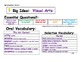 Journeys 2014 First Grade Oral and Selection Vocabulary Unit 6