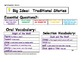 Journeys 2014/2017 First Grade Oral and Selection Vocabulary Unit 2