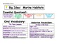 Journeys 2014/2017 First Grade Oral and Selection Vocabulary Unit 3